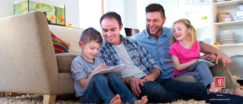 O casamento homoafetivo e os filhos.