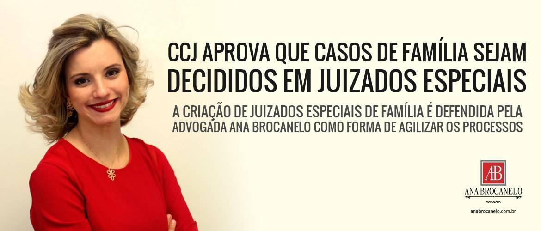 CCJ aprova que casos de família sejam decididos em juizados especiais.
