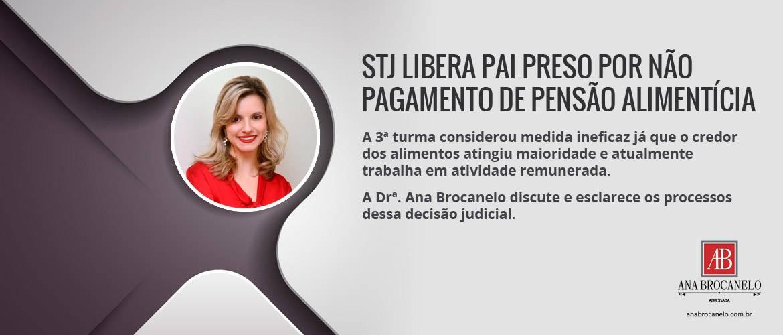 STJ libera pai preso por não pagamento de Pensão Alimentícia.