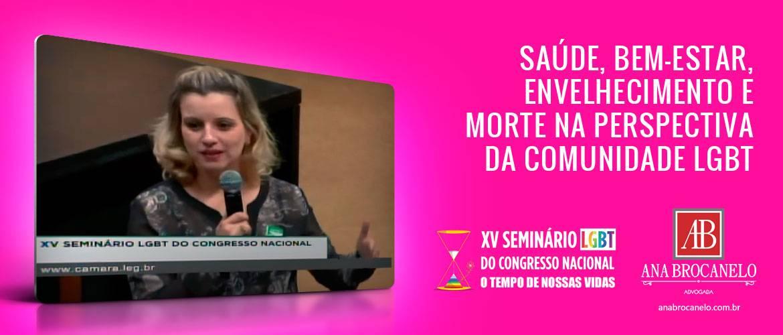 """15º Seminário LGBT: """"O tempo de nossas vidas""""."""